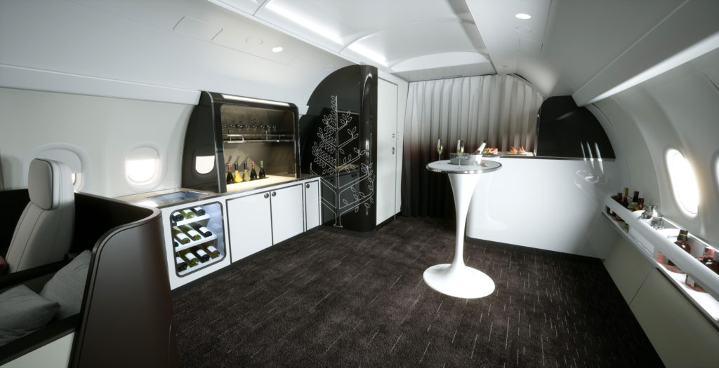 Four Seasons have chosen the Airbus A321LR as its choice of private jet for luxurious travel experiences. Four Seasons Photo