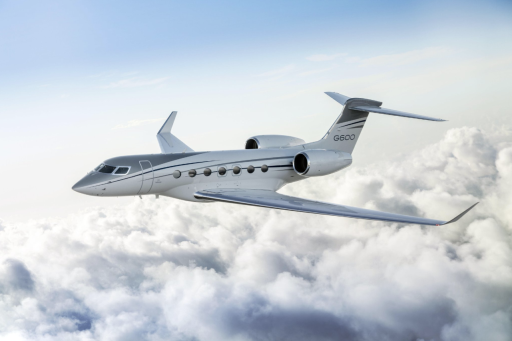 Gulfstream announced its G600 aircraft is wrapping up its function and reliability testing and is a step closer to type certification. Gulfstream image