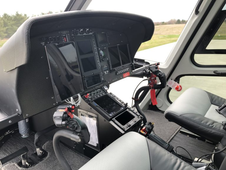 The avionics in the customized VIP H125 were boosted with a Garmin GTN750, G500 and GTN650, a Genesys Aerosystems autopilot, and more. Oliver Johnson Photo