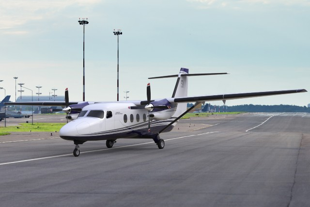 Assembly for a prototype of the Cessna Denali is underway, along with component testing for a new propeller, nose landing gear and fuel system, according to Textron Aviation. Textron Aviation Photo