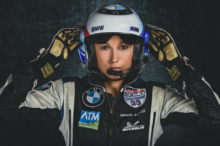 Alsim has announced a partnership with the first female Red Bull Air Race winner and French aerobatics champion Mélanie Astles. Alsim Photo