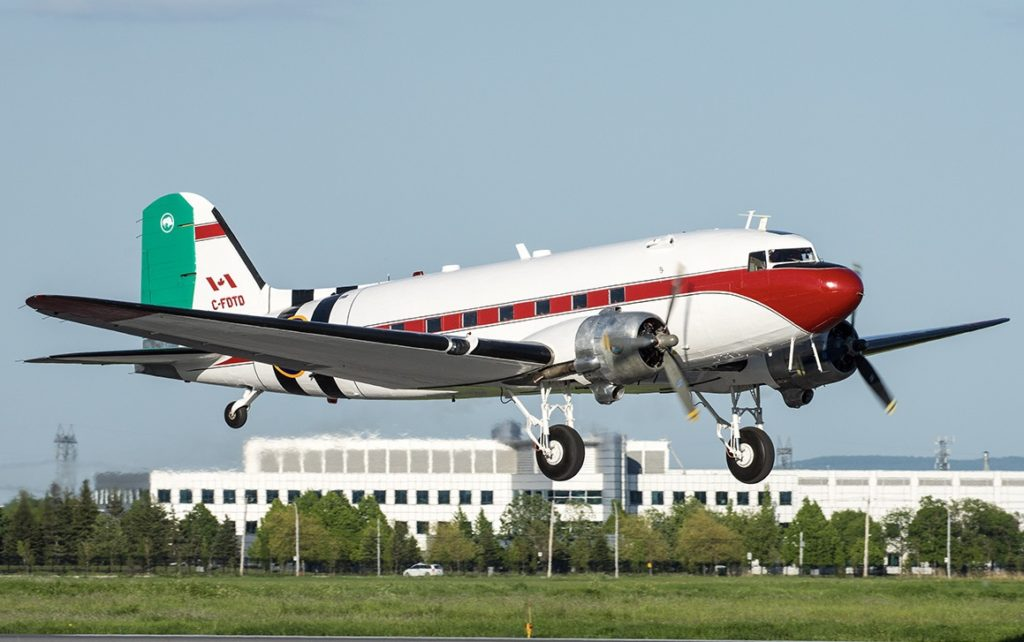 Mikey McBryan and the Plane Savers crew successfully restored the Douglas DC-3 in time to get it flying for the 75th anniversary of D-Day. Pierre Gillard Photo