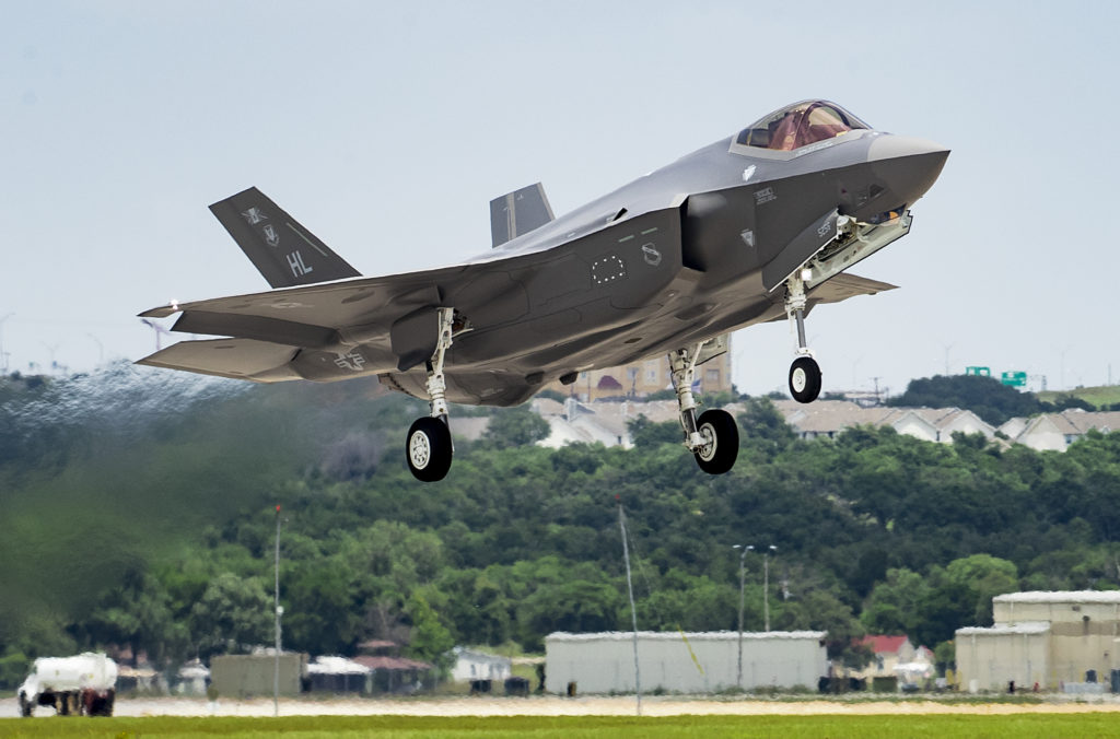 The 400th production F-35 aircraft has gone to the U.S. Air Force's Hill Air Force Base in Utah. Lockheed Martin Photo