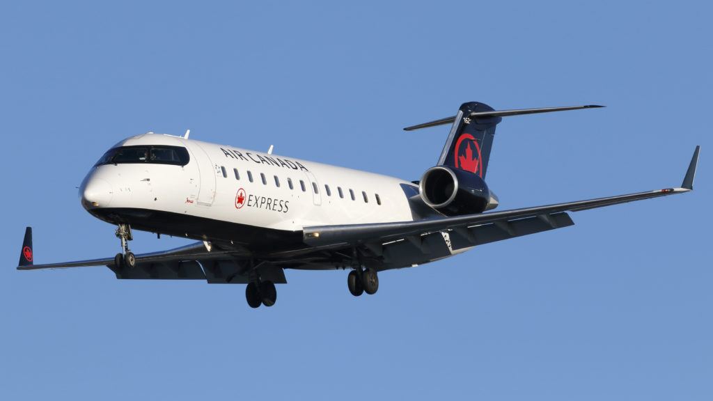 Once one of Bombardier's more profitable divisions, the CRJ program has been losing the OEM money recently, leading the Montreal-based company to attempt to divest itself of the program. Michael Durning Photo