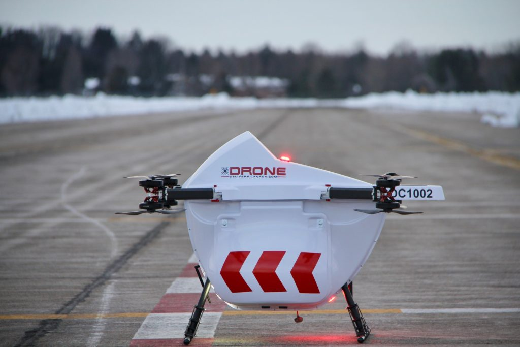 Air Canada Cargo will market DDC's drone delivery services across Canada, giving it access to the growing potential of commercial drone deliveries. Drone Delivery Canada/Air Canada Photo