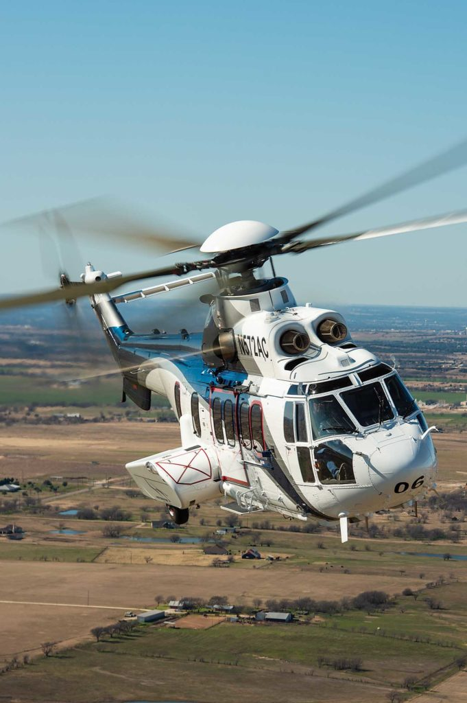 Air Center Helicopters, based in Fort Worth, Texas, is a newer Heli-One customer. The operator has a fleet of 17 H225s, used largely for utility work. Dan Megna Photo