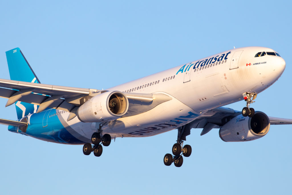 Group Mach has made a counter-offer to purchase Transat A.T.'s shares for $14, a dollar-per-share more than Air Canada's proposed purchase of Transat. Galen Burrows Photo