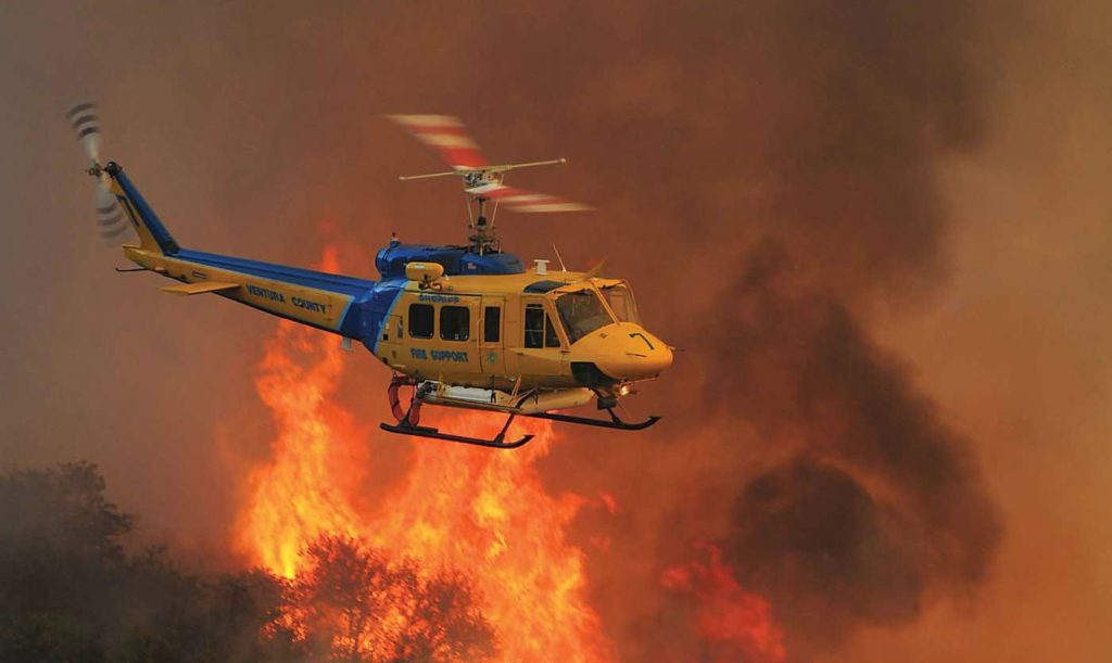 With high fuel loads, a heightened risk of wildfires is predicted for southern Arizona through July and for central and western California throughout the summer and into the fall. Skip Robinson Photo