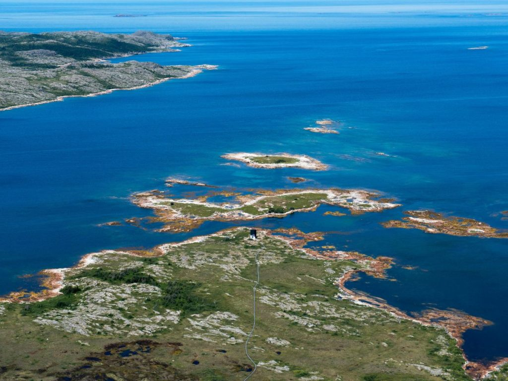 EVAS Air is now chartering flights directly to Fogo Island, N.L., from major hubs such as New York City and Boston. Fogo Island Inn Photo