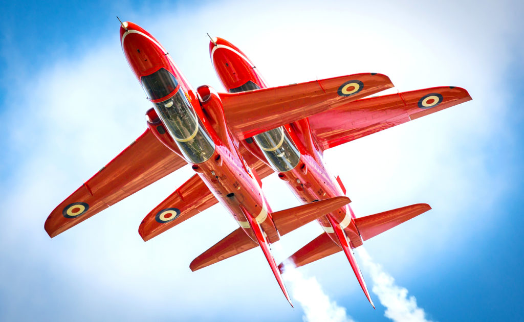 One of the world's premier aerobatic teams, the Red Arrows had completed nearly 5,000 displays, in 57 countries, by the beginning of 2019. RAF Photo