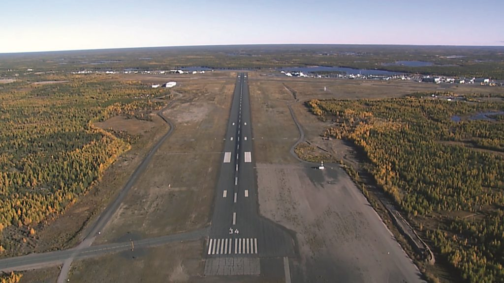 Extending CYZF's runway to 10,000 feet to accommodate direct international flights has been an ongoing discussion point. CYZF Photo