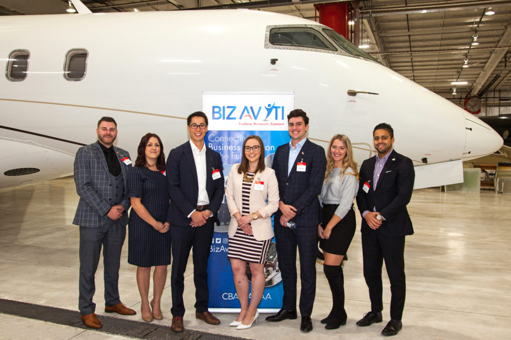 The BizAv Young Talent Initiative, started at CBAA 2018, is one avenue the industry has successfully explored to drum up interest among younger people entering the work force. Andy Cline Photo