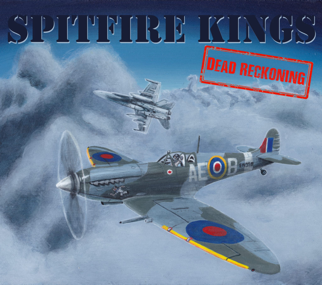 Spitfire Kings' debut album, Dead Reckoning, features nine tracks -- four of which are originals. RCAF Image