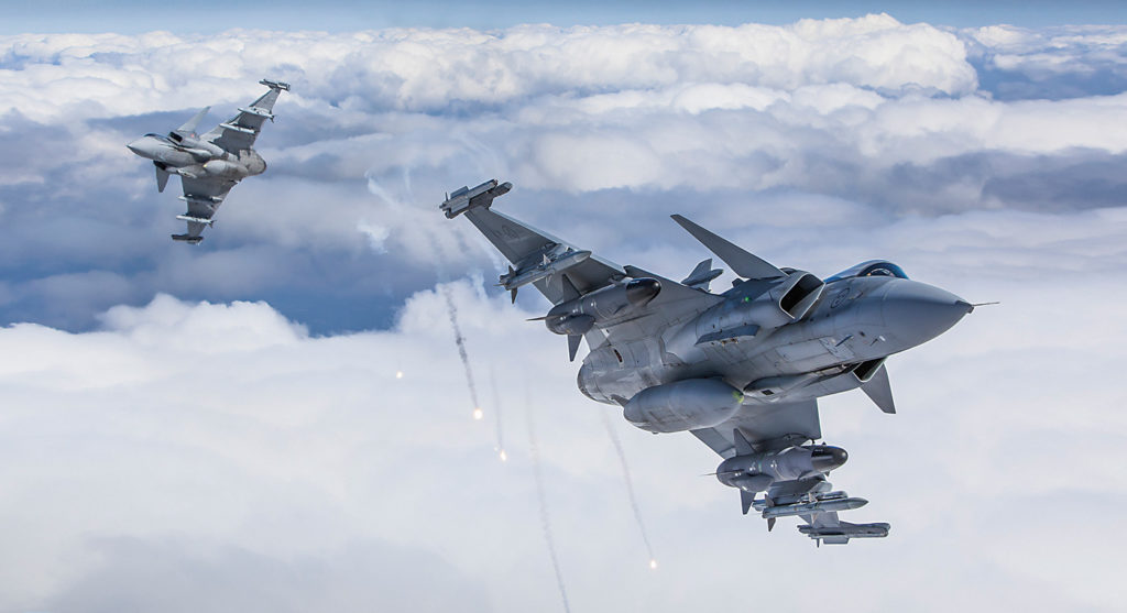 Saab Gripen. Linus Svensson Photo