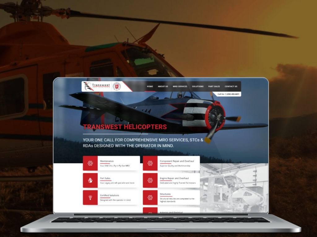 As a Bell legacy aircraft maintenance, repair and overhaul (MRO) facility, offering certified solutions to enhance the safety and operational profitability for operators was a natural evolution for Transwest. Transwest Helicopters Image