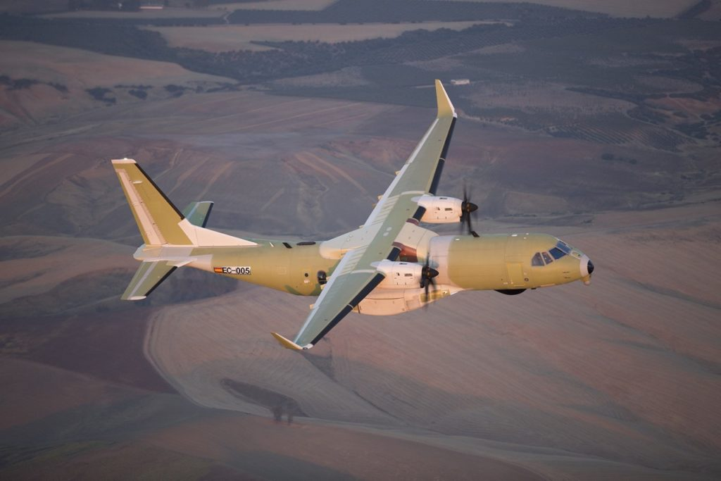 The first Airbus C295, purchased by the Government of Canada for the Royal Canadian Air Force's (RCAF) Fixed Wing Search and Rescue Aircraft Replacement (FWSAR) program, has completed its maiden flight. Airbus Photo