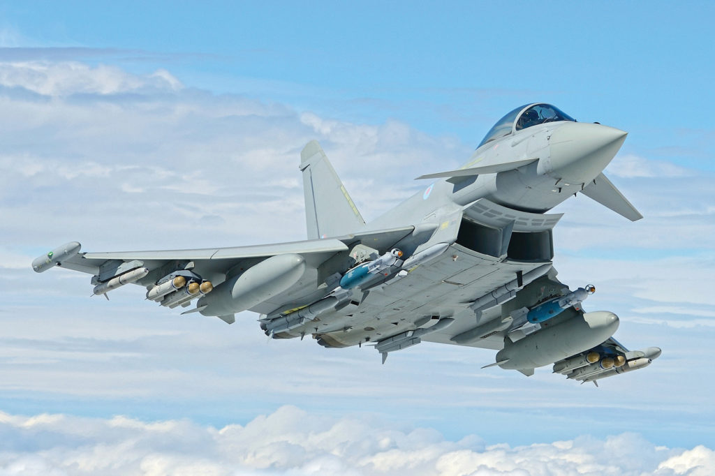 Eurofighter Typhoon. Airbus Photo