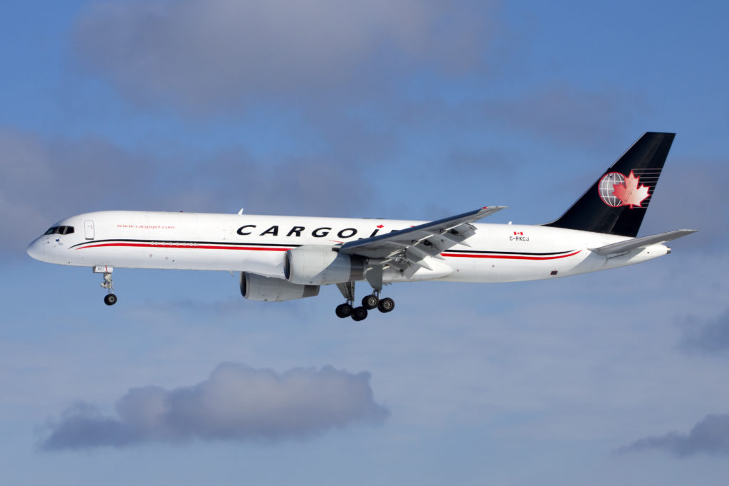 Cargojet operates its network across North America each business night serving 15 major cities, and selected international destinations, utilizing a fleet of 26 all-cargo aircraft. Mike Durning Photo
