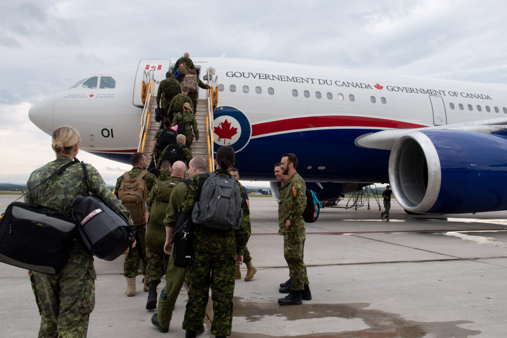 2 Wing consists of five units and has an operational, command and control, logistics and support structure that allows it to be self-sustaining and deployable at any time in response to government requests. RCAF Photo