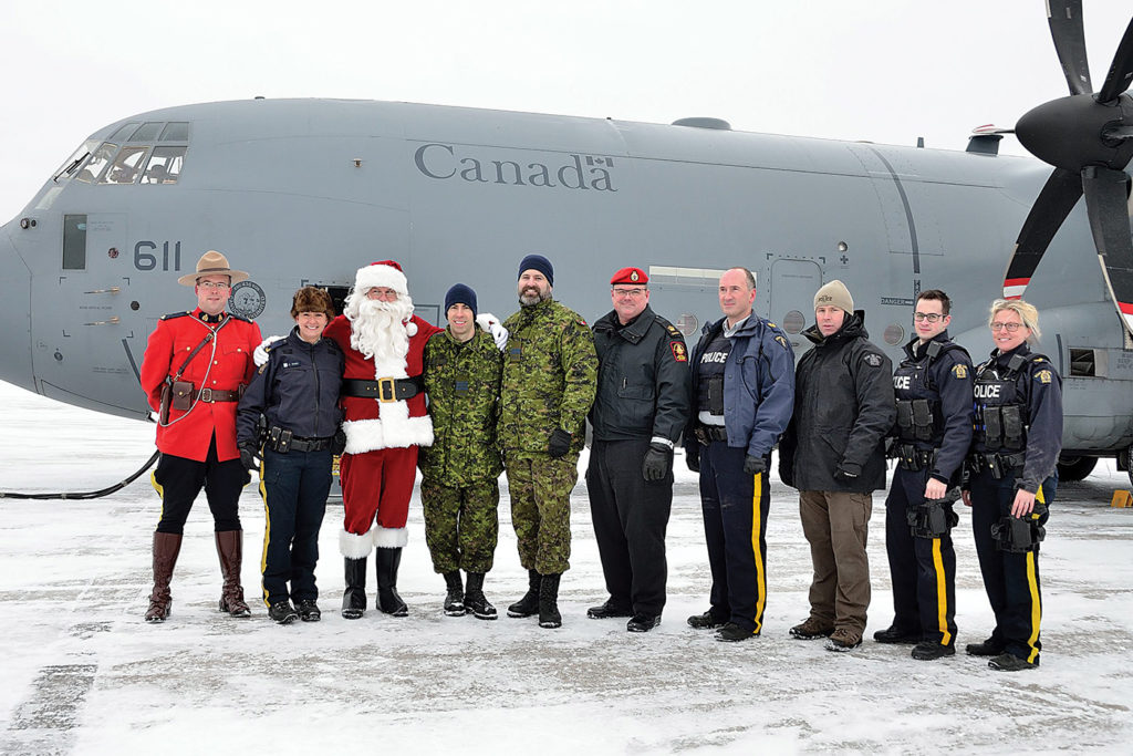 5 Wing supports the annual Toys for the North program, a project between the RCMP and the military to deliver Christmas gifts to northern communities. DND Photo