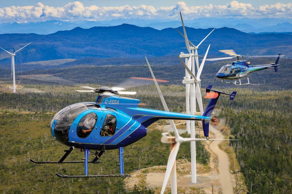 The company now has a fleet of 18 aircraft, spanning three light and intermediate types. Heath Moffatt Photo