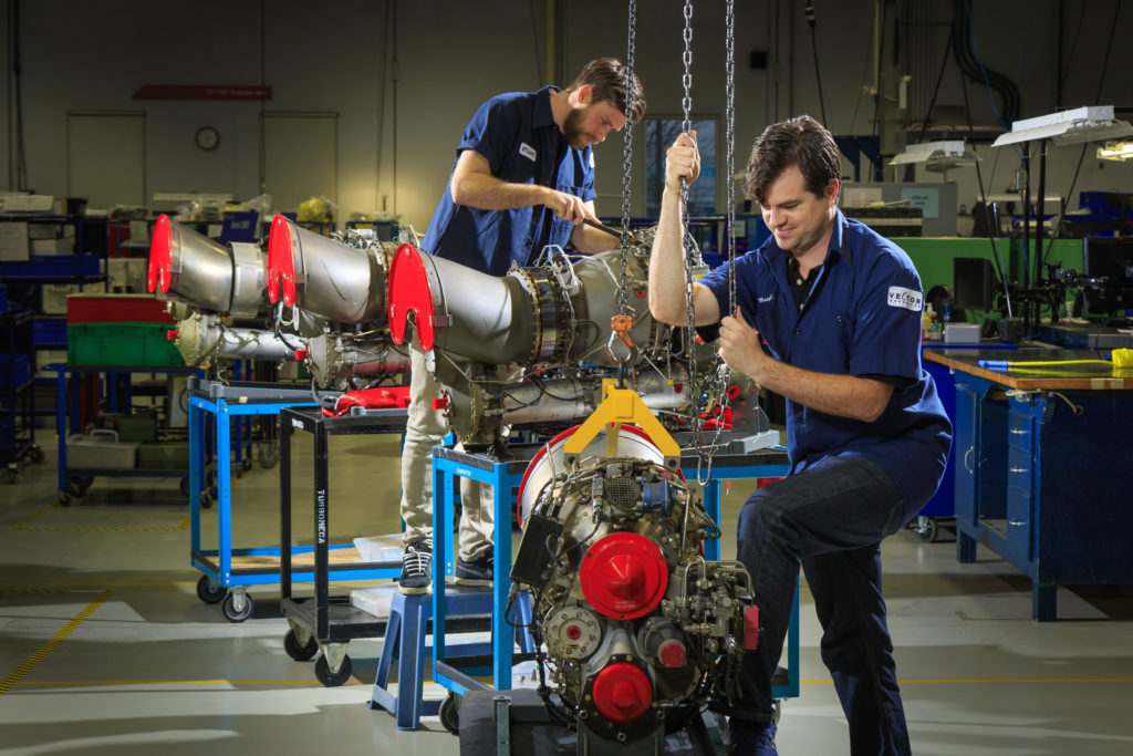 For maintenance, repair and overhaul (MRO) companies struggling with an acute shortage of aircraft maintenance engineers, government support for skill development and global recruitment is a top priority. Heath Moffat Photo