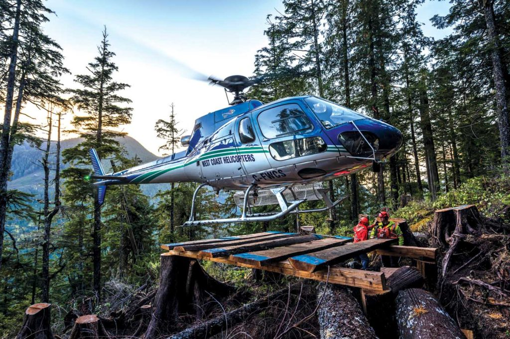 The AStar has proved a great fit for operations in the north of Vancouver Island and the central coast of the mainland. Bill Campbell Photo
