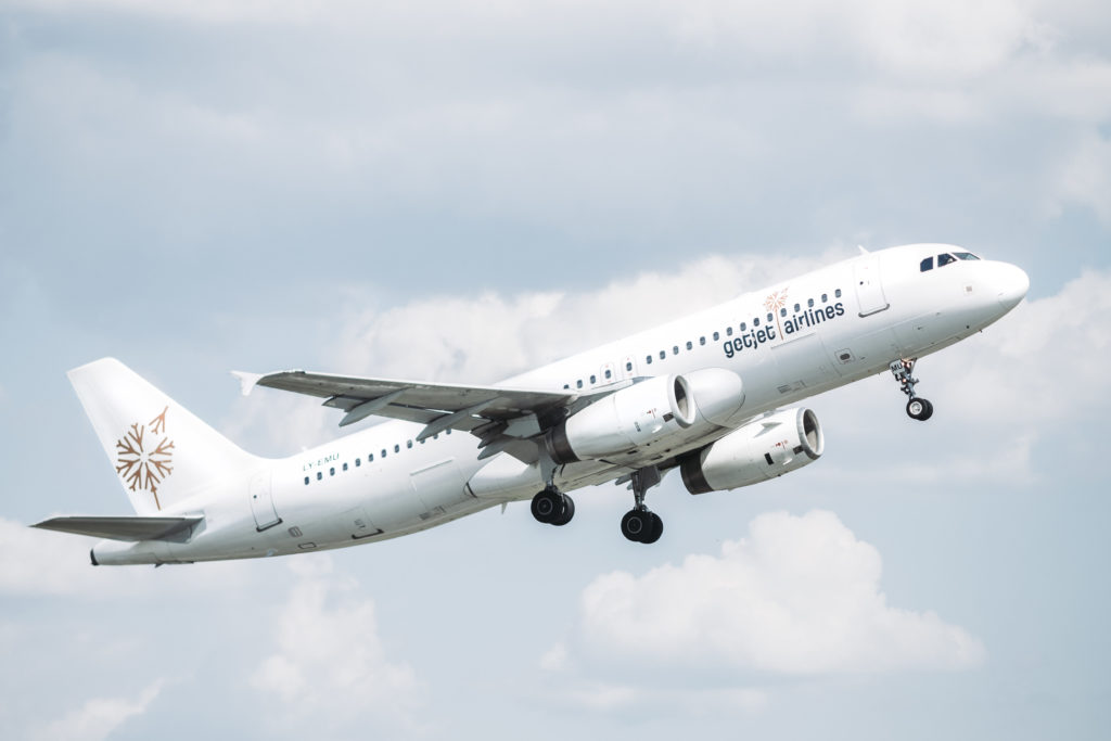 GetJet's fleet has been expanded by 300 per cent during the past two years, and currently stands at 17 aircraft: seven Boeing 737, six A320s, a wide-body Airbus A330 and three Airbus A319s. GetJet Airlines Photo