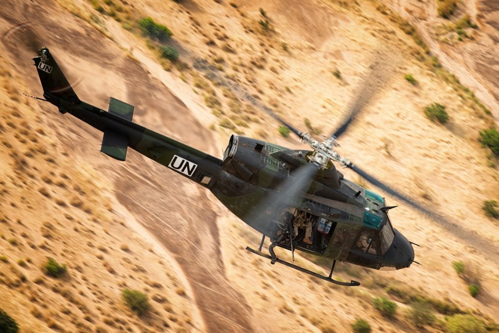 In July 2018, Canada deployed an ATF composed of 250 CAF members and eight helicopters to Gao, northern Mali as part of the UN Multidimensional Integrated Stabilization Mission in Mali. Lloyd Horgan Photo