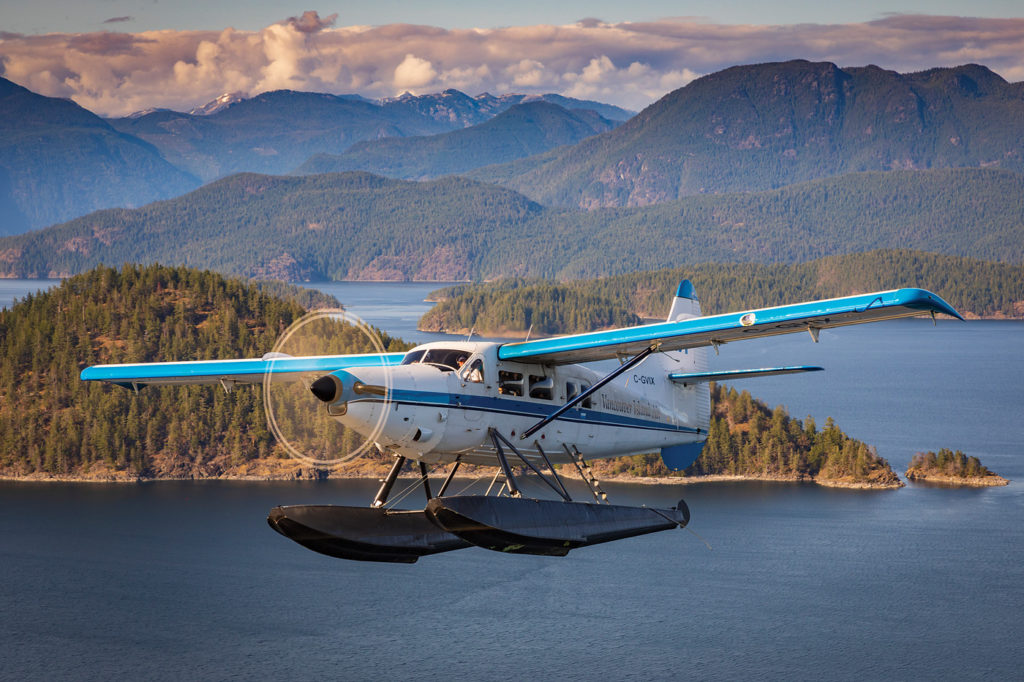 Much of British Columbia's rugged coast is serviced by venerable aircraft such as the single-engine de Havilland Canada Turbine Otter. Vancouver Island Air (VIA) of Campbell River, B.C., has found a new way to coax even more performance from this legendary bushplane. Heath Moffatt Photo