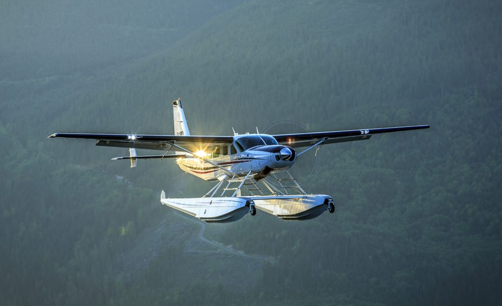 Jim Hartwell began to develop the North Star Practices after members of the forestry industry voiced their concerns with floatplane ferrying. Heath Moffatt Photo