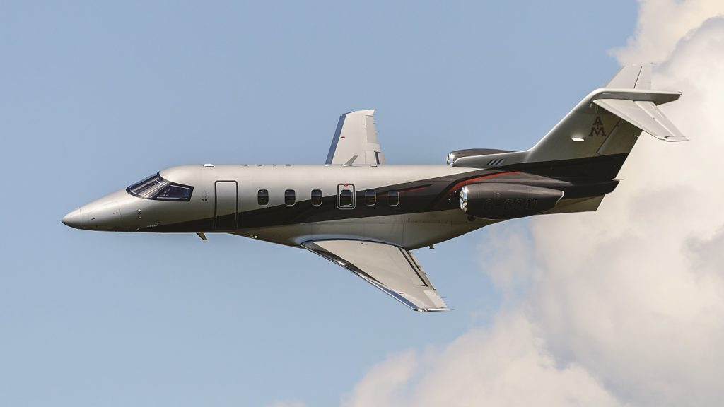 The first Canadian registered PC-24, pictured here, was delivered in July, less than a month after the aircraft received its Canadian certification. Bill Fawcett Photo