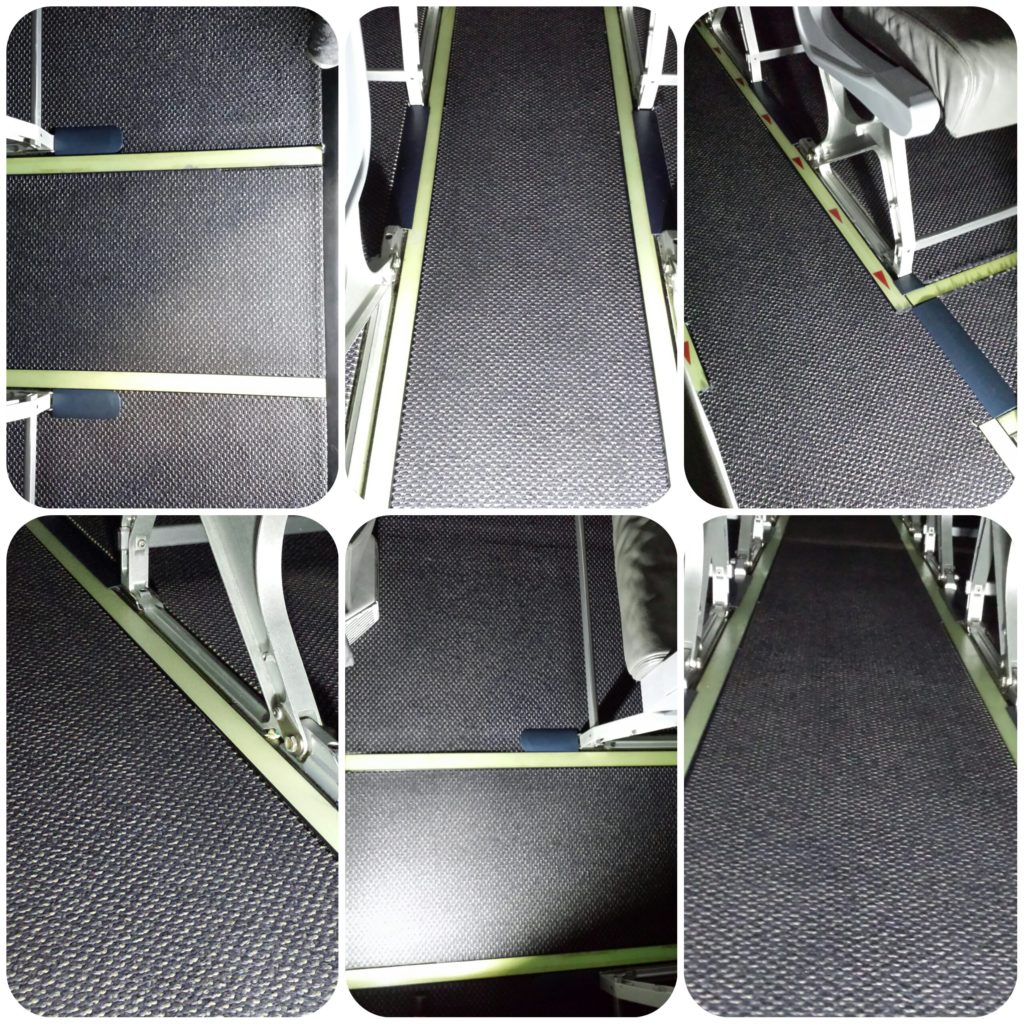 Commercial aircraft carpets after cleaning. Albatross Photo