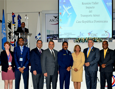 The Dominican Republic celebrated the release of a study undertaken by ICAO and the Inter-American Development Bank which has illustrated the tremendous economic impact of the modernization of its air transport sector. ICAO Photo
