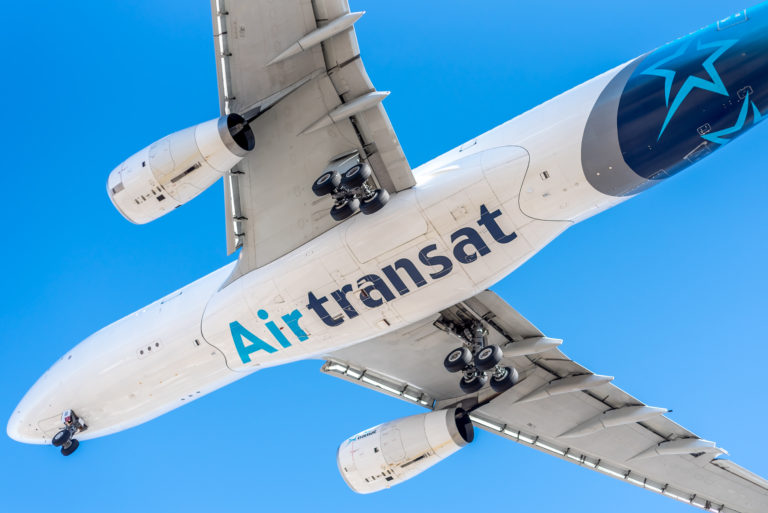 Air Transat had been expecting at least seven Airbus A321s from Thomas Cook this winter. Now that the British tour operator is bankrupt, Transat is evaluating its options. A representative said there will be