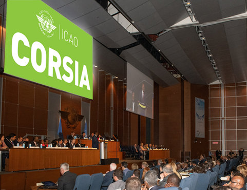 States present at the 40th ICAO Assembly stressed the importance of moving forward with the CORSIA emissions solution, but believe the work done so far shows promise for the future. ICAO Photo