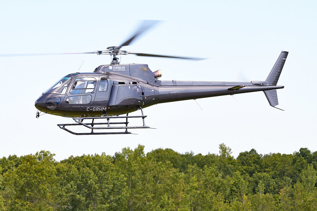 There are nearly 600 AS350's flying in Canada in which roughly 75 per cent are legacy variants where no other CRFS solution exists. Vitek Zawada Photo