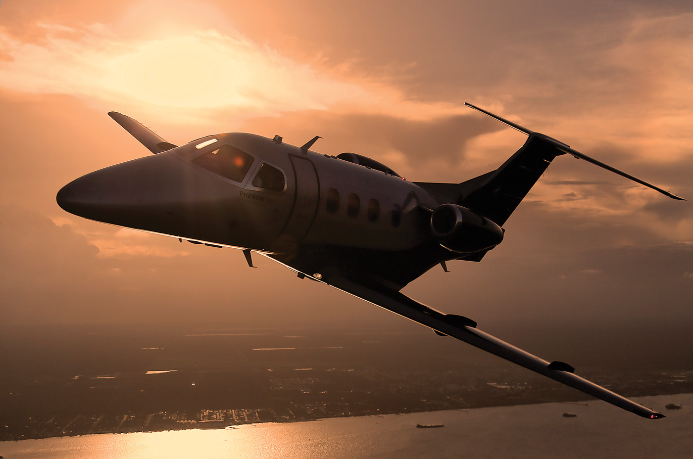 The Canadian corporate operators on our panel reported their aircraft each fly around 400 hours per year. Annual utilization is holding steady or even increasing, they say. Embraer Photo