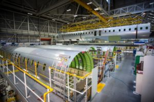 The sale of its aerostructures business supports Bombardier's aviation transformation, refocusing on business aircraft. Bombardier Photo