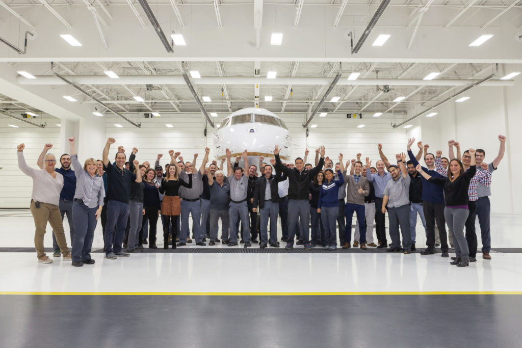 EASA certification allows the Global 5500 and Global 6500 aircraft to be registered in a European Union country. Bombardier Photo