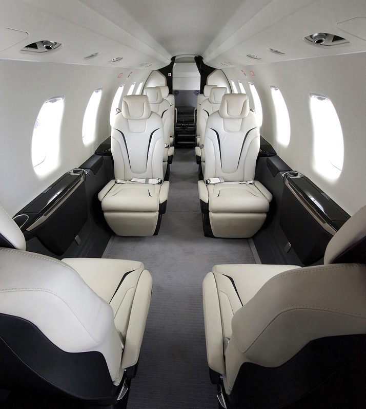 The PC-24's spacious cabin is more than 50 per cent larger than its key competitors and features a flat floor. Pilatus Photo