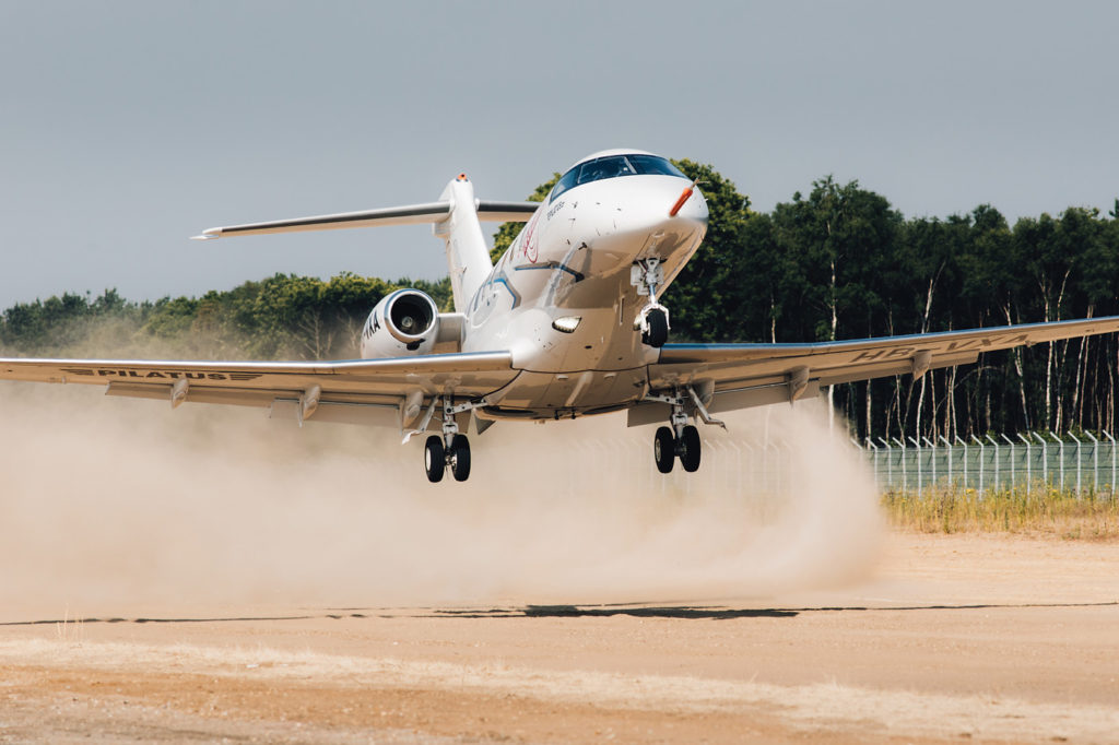 Pilatus claims the PC-24 can operate out of some 7,500 airfields within North America, including unpaved strips. That translates to approvimately 70 per cent more available destinations that its key competitors. Pilatus Photo