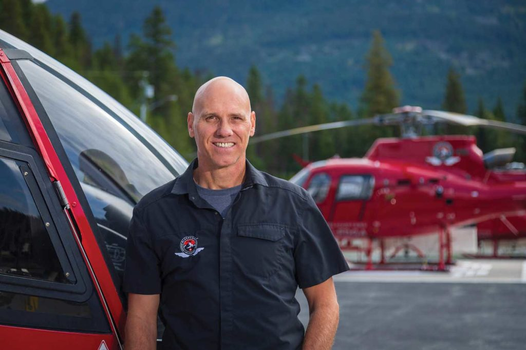 Andrew Bradley, Blackcomb's operations manager, has been with the company since 2005, and has seen a gradual but significant evolution at the operator. Heath Moffatt Photo