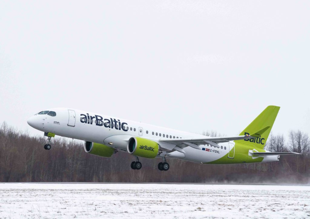 AirBaltic became the A220-300 launch operator when it received delivery of the first ever A220-300 three years ago. Airbus Photo