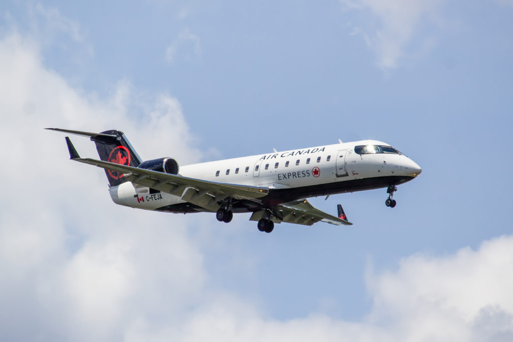 Under the Jazz Approach program, cadets will undergo airline transport pilot license training over 18 months at Seneca's School of Aviation, followed by CAE providing CRJ200 type rating at its Toronto facility. CAE Photo