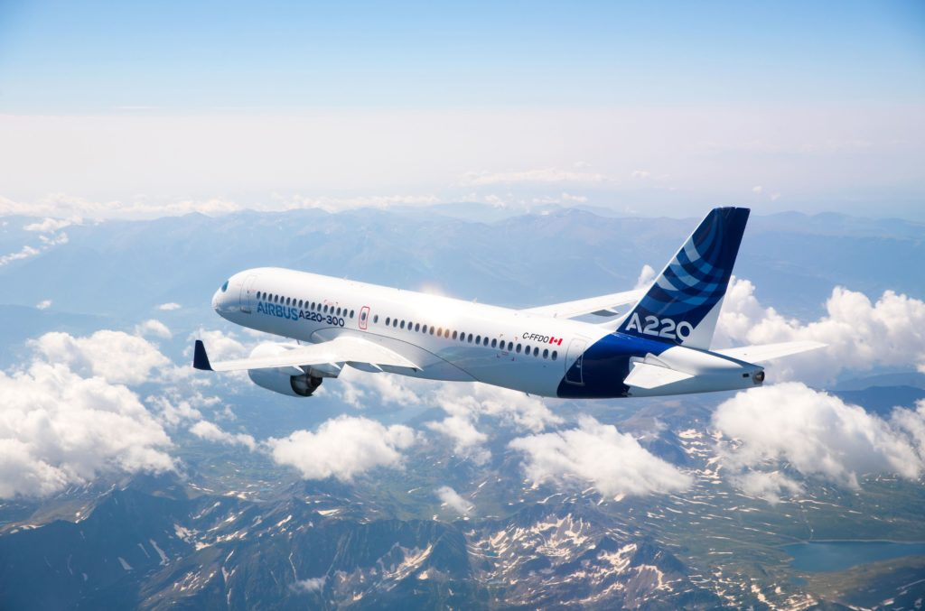 Avianor is able to offer any A220 customers complete custom modifications and service bulletins as the company's hangar is located less than one kilometre from Airbus' Mirabel facility. Airbus Photo