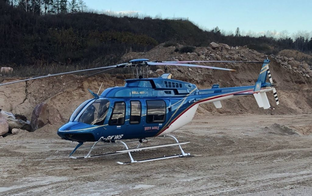 When White Saddle's GXi enters regular service after February, it will serve as backup for the two Bell 212 twin-engine firefighting helicopters in the area. Mike King Photo