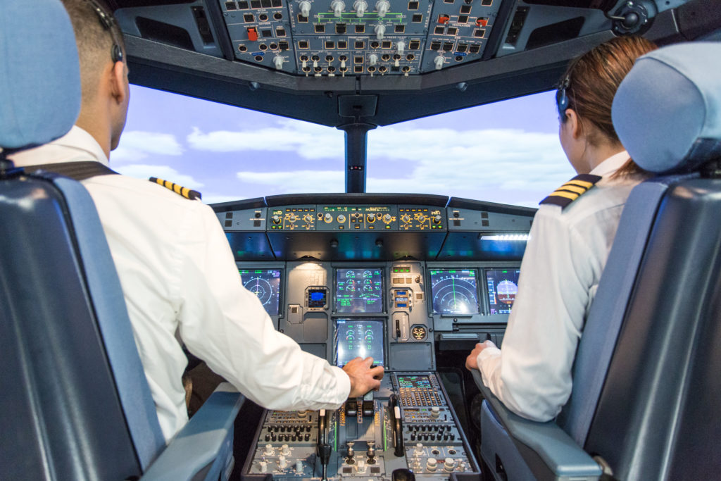 CAE has been training Jazz Aviation's pilots in Canada since 2003, and under this new agreement with Seneca, CAE will help Jazz in the selection, training and certification of new pilots. CAE Photo
