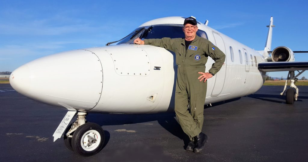 Kirbyson and the Westwind he's flown for Top Aces since 2004. Craig
