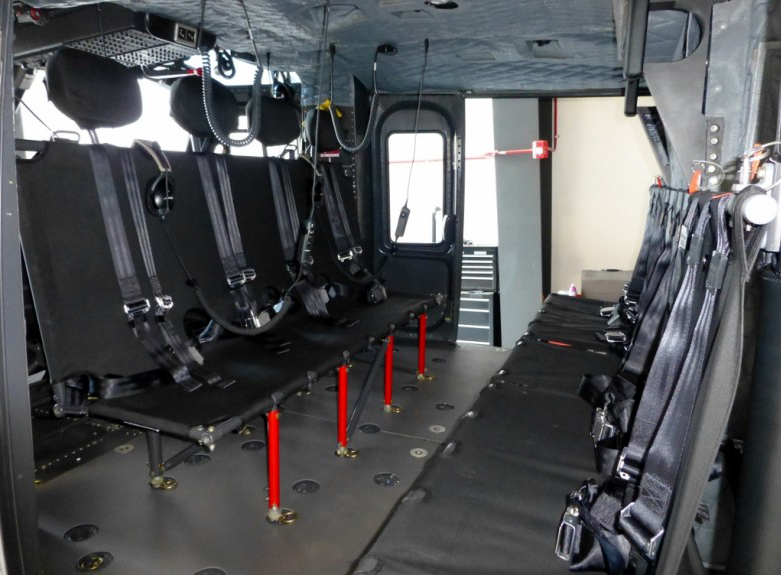 PDA19-41 is certification approved by TCCA that allows the holder to manufacture replacements for Bell Medium helicopters. Aerotex Interiors Photo